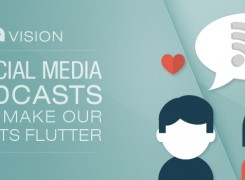 Five Social Media Podcasts that Make Our Hearts Flutter