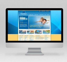 Bank of Yazoo Website Design