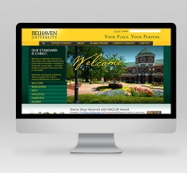 Belhaven University Website Design
