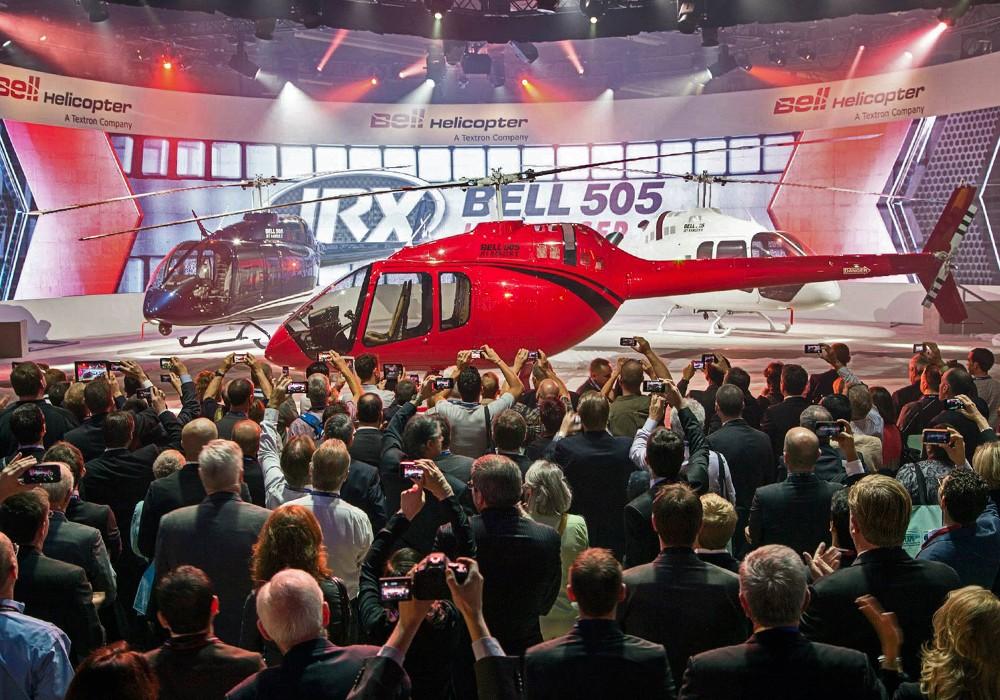 Bell 505 Branding & Microsite