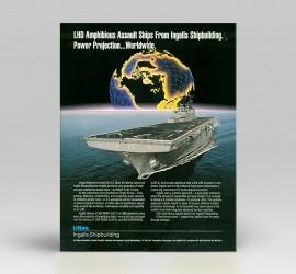 Ingalls Shipbuilding LHD Ad
