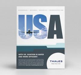 Thales USA Print Ads