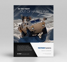 Textron Systems Print Ads & Brochures