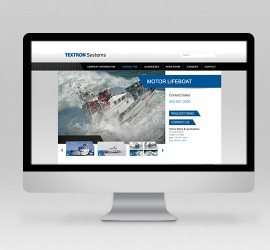 Textron Systems Website & Social Media Design