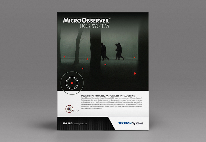 Textron Systems Micro Brochure Front