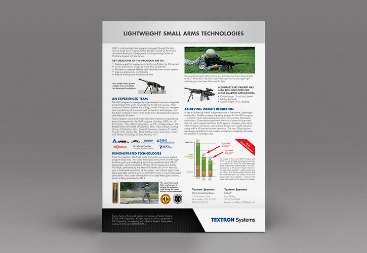 Textron Systems Data Sheet