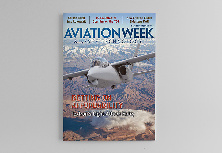 Scorpion Feature in Aviation Week