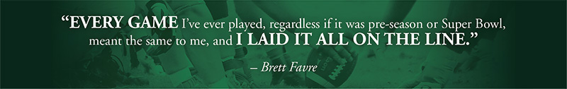 Brett Favre - The Cirlot Agency