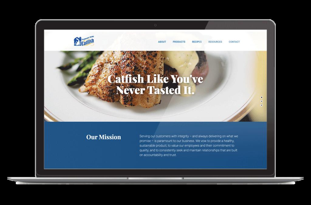 Freshwater Farms Website
