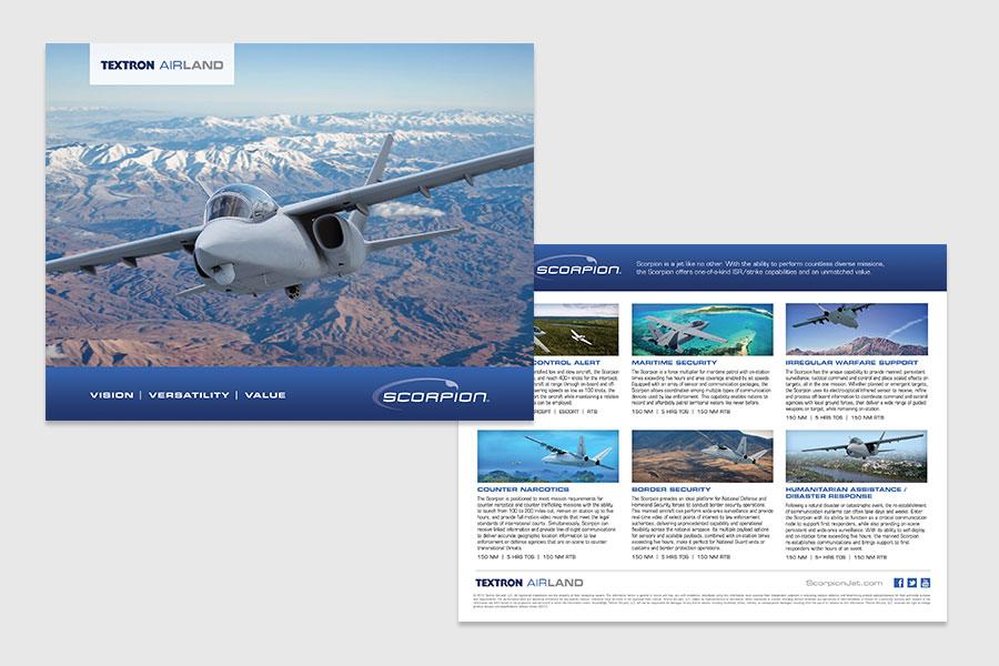 Textron Airland Scorpion Print