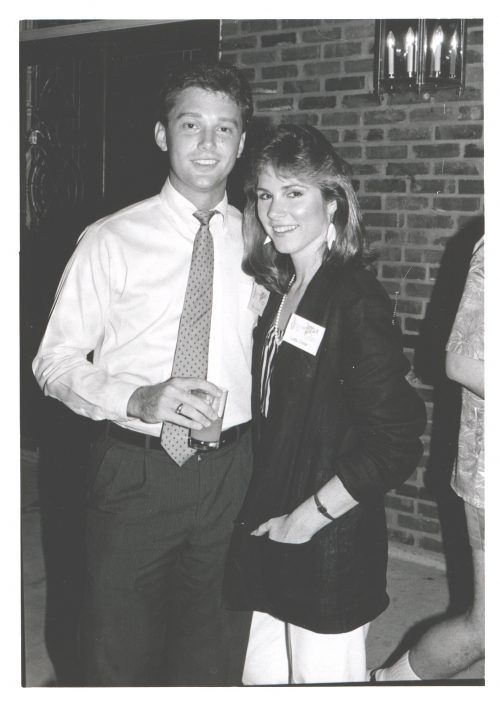 Rick and Liza Looser - When They First Met